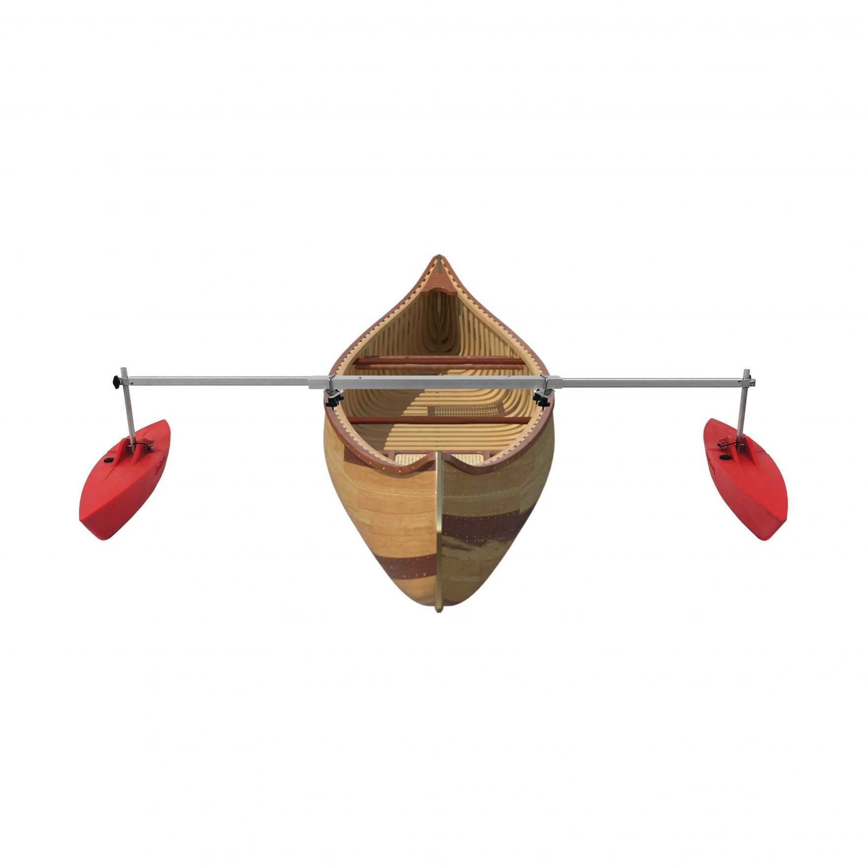 Bold Ivy Canoe Stabilizer Complete Set