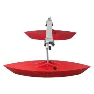 Bold Ivy Canoe Stabilizer Set - Side - Red