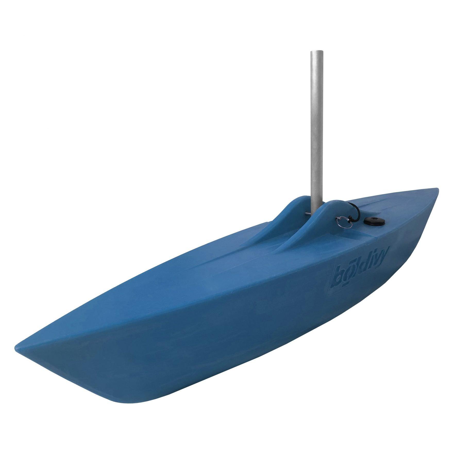 Bold Ivy Canoe Stabilizer Floats - Angle - Blue