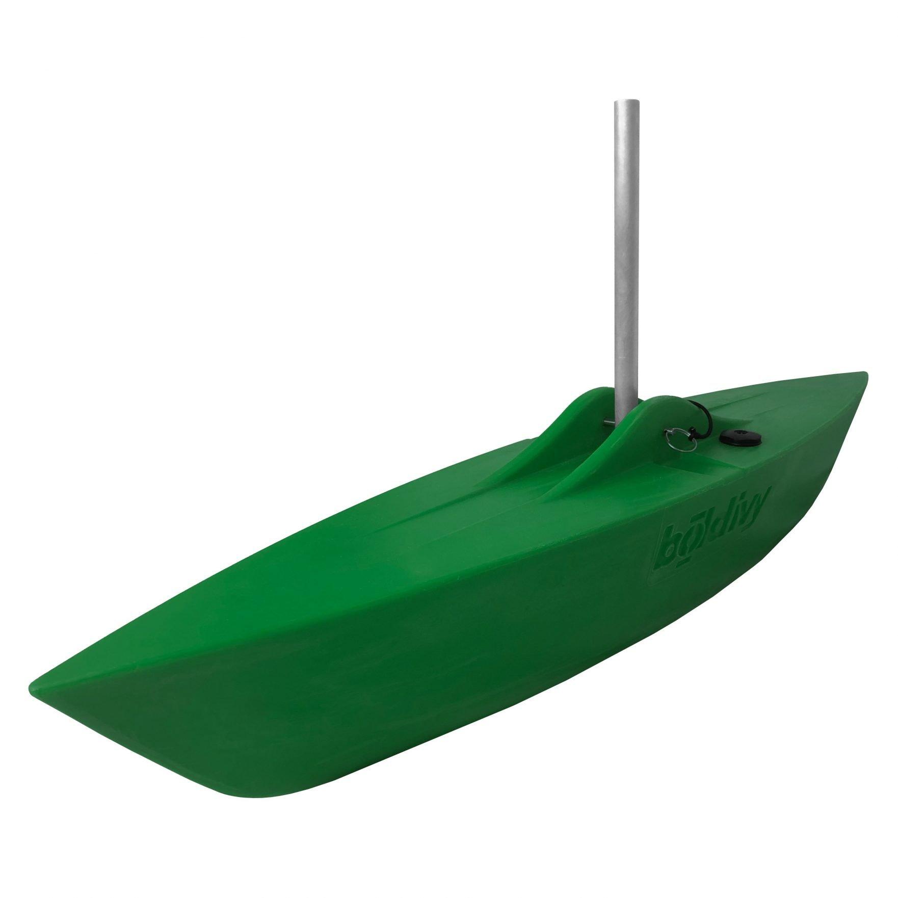 Bold Ivy Canoe Stabilizer Floats - Angle - Green