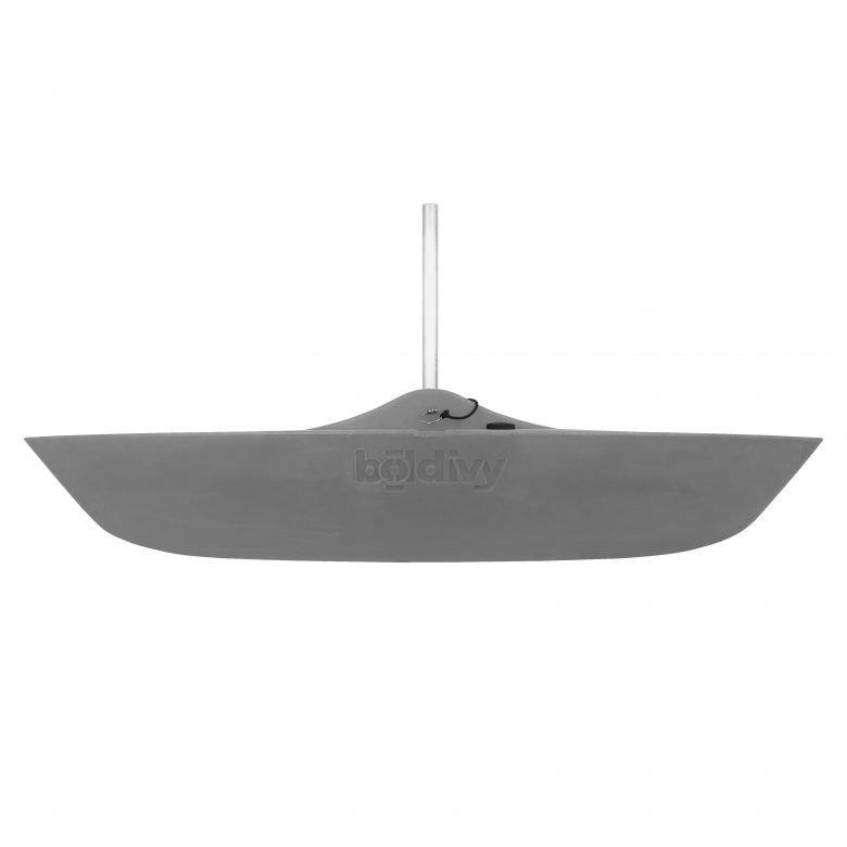 Bold Ivy Canoe Stabilizer Floats - Side - Gray