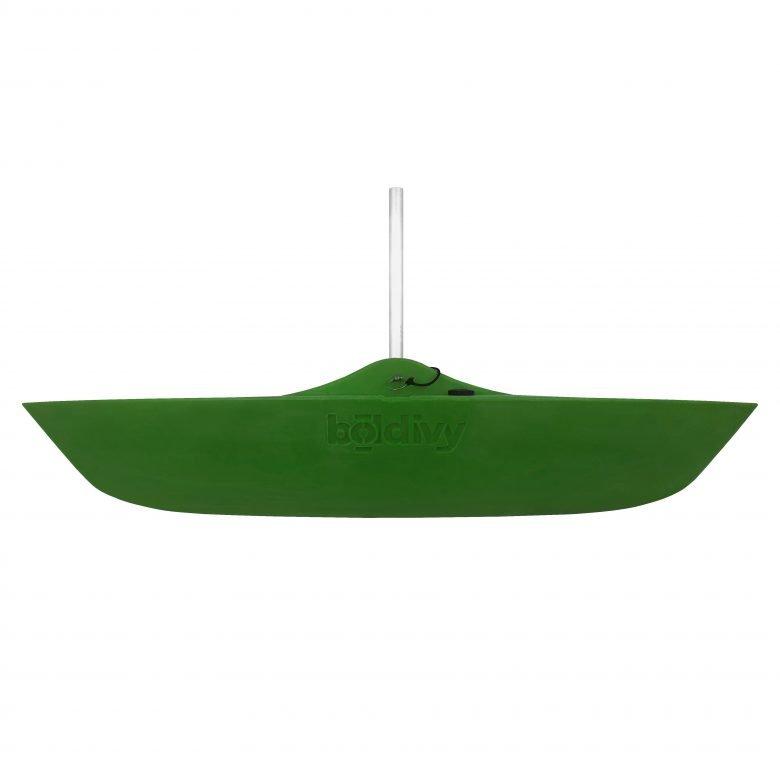 Bold Ivy Canoe Stabilizer Floats - Side - Green