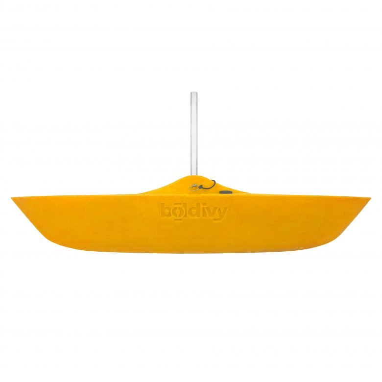 Bold Ivy Canoe Stabilizer Floats - Side - Yellow