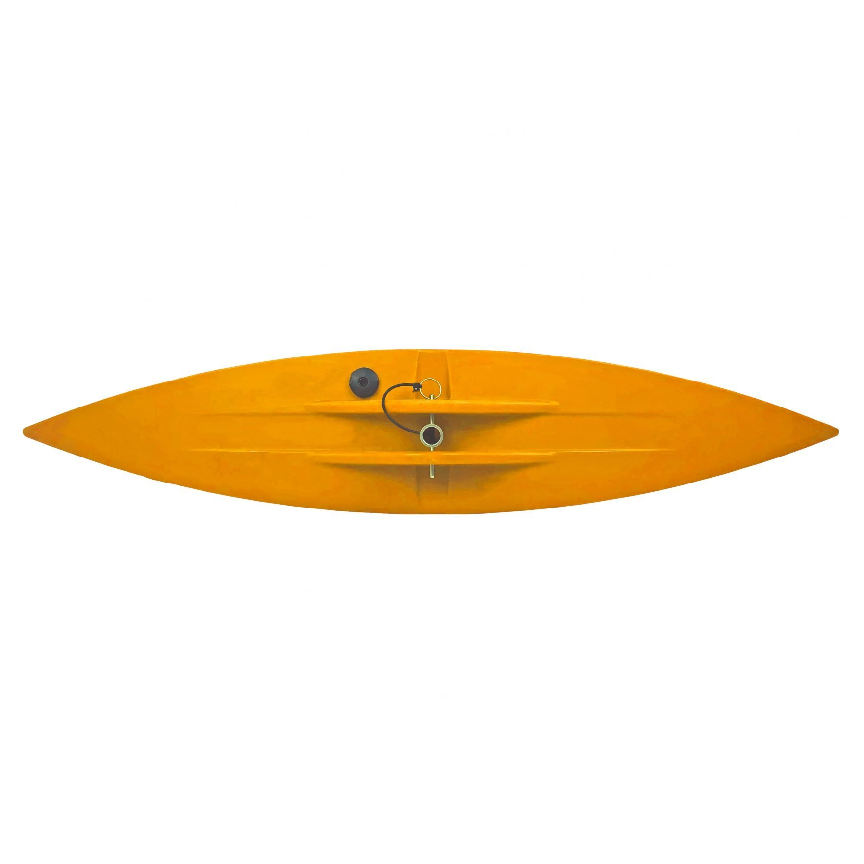 Bold Ivy Canoe Stabilizer Floats - Top - Yellow