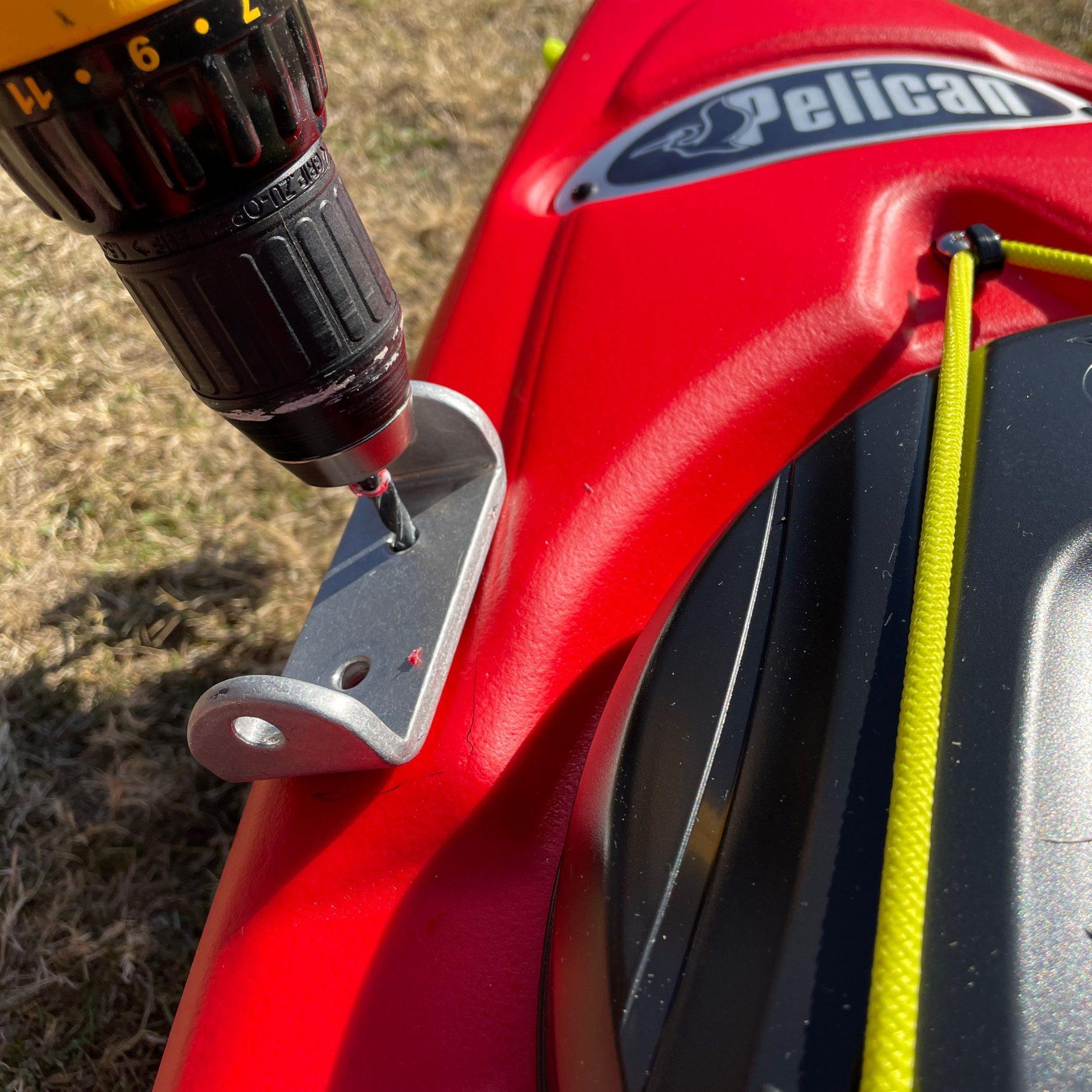 Bold Ivy Kayak Stabilizer Installation - Step 8