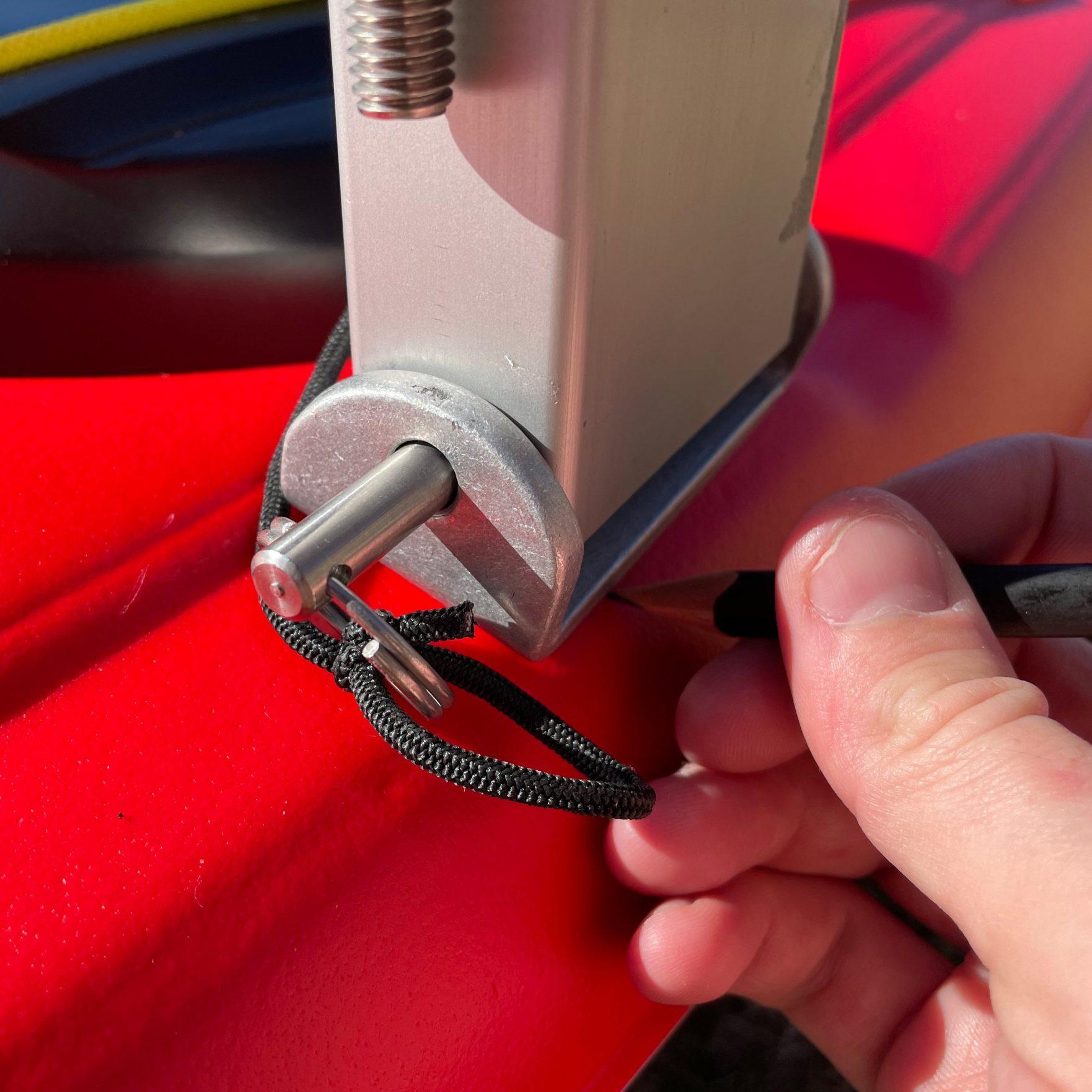 Bold Ivy Kayak Stabilizer Installation - Step 6